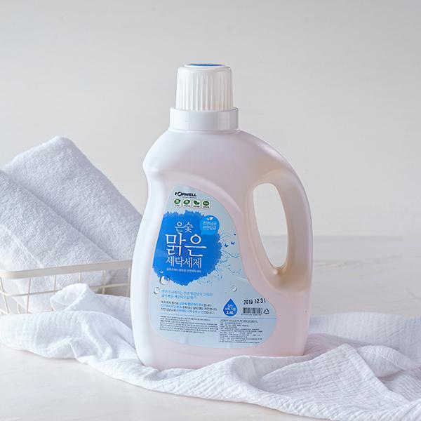 목초액 맑은세탁세제 [일반용, 2.4LX(1~4개)]