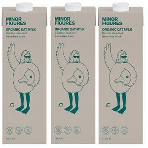 마이너피겨스 유기농 오트음료 1L 3팩,6팩 대표이미지 섬네일