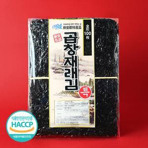 12월 지주식 홍도 곱창재래김 특품 100매 대표이미지 섬네일