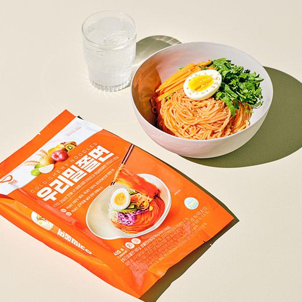 우리밀 쫄면(2인분, 420g) 상품이미지