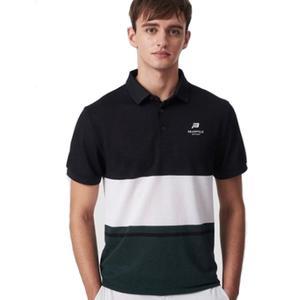 [빈폴스포츠] 카키 남성 COOLHAN 한지 컬러 블럭 반팔 티셔츠 (9442D13H)  대표이미지 섬네일