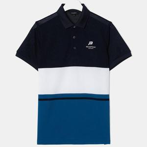 [빈폴스포츠] 블루 남성 COOLHAN 한지 컬러 블럭 반팔 티셔츠 (9442D13P) 대표이미지 섬네일