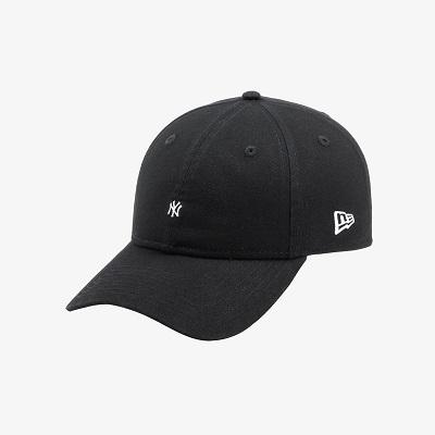 [뉴에라] 언스트럭쳐 MLB 마이크로 로고 뉴욕 양키스 볼캡 블랙