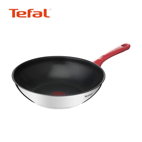 [테팔 신제품] 테팔 에디션 레드 인덕션 멀티팬 28cm