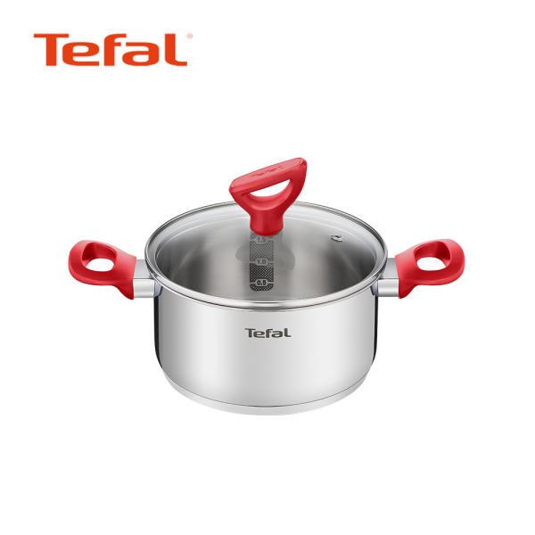 [테팔 신제품] 테팔 에디션 레드 인덕션 양수냄비 18cm