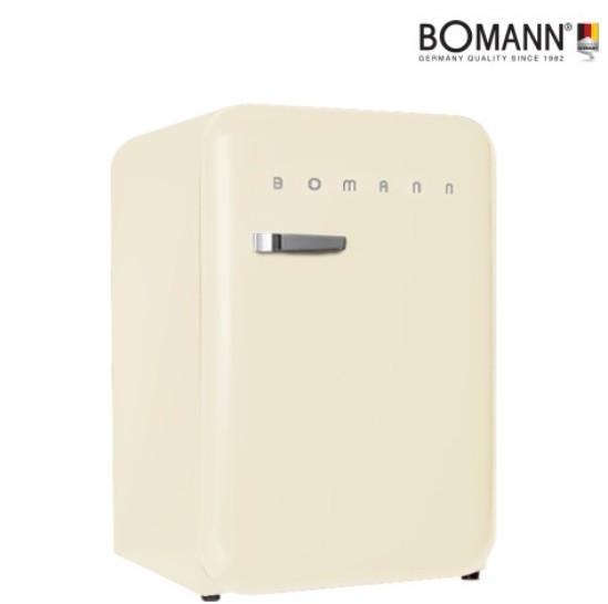 [입점기념 단독특가]보만 106리터 1등급 레트로 클래식 아이보리 냉장고 와인렉포함 RF1065I