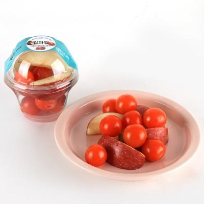 세척 컵과일 사과& 방울토마토 150g 대표이미지 섬네일