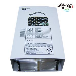 삼각김밥김 100장/스티커/지퍼봉투 (삼각틀 옵션추가 가능) 대표이미지 섬네일