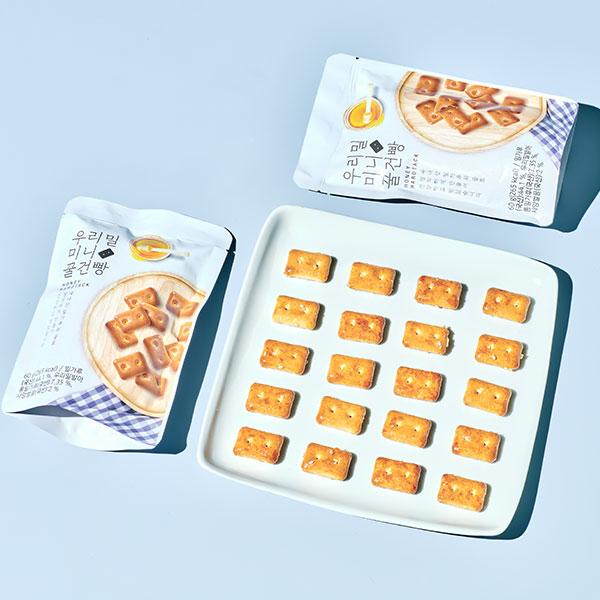 우리밀 미니 꿀건빵(60g) 대표이미지 섬네일