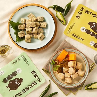 띵커바디 토핑 IN 닭가슴살 큐브 2종 (할라피뇨치즈/깻잎고추) 대표이미지 섬네일
