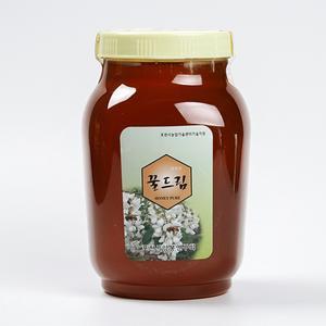 벌이딴 자연 아카시아 꿀 2.4kg 대표이미지 섬네일