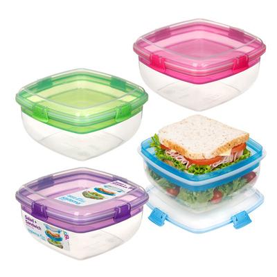 시스테마 샐러드&샌드위치 투인원 런치박스 2개 (색상 랜덤 발송)