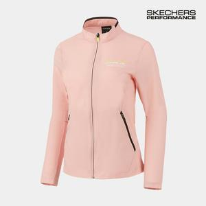 [간절기] 스케쳐스 여성 에어 메쉬 쿨링 자켓 핑크