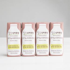 상하목장 유기농 코코아우유 (125ml×4) 대표이미지 섬네일