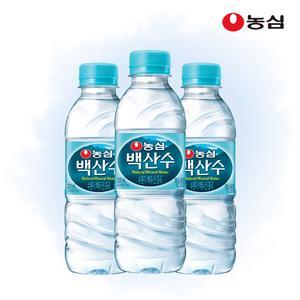 [무료배송] 농심 백산수 330ml 20병 대표이미지 섬네일