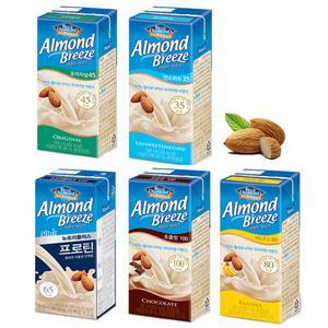 아몬드브리즈 오리지널/언스위트/프로틴/바나나/초콜릿 190ml 24팩 이중포장 대표이미지 섬네일