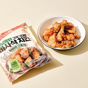 [입점특가]바사삭 치킨 한마리(12조각, 500g) 대표이미지 섬네일