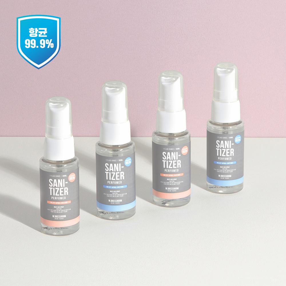 더블유드레스룸 퍼퓸 세니타이저 30ml 99.9% 항균탈취