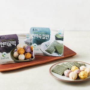 유기방아 현미꿀떡 (240g)