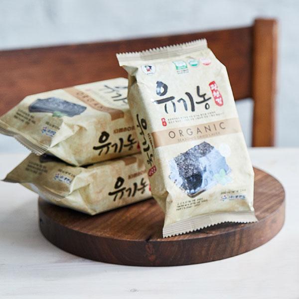 광천 유기농 도시락김(4g×9봉) 대표이미지 섬네일