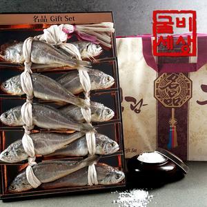 영광 법성포 굴비 선물세트 명품 (10미/0.9~1.5kg내외) 대표이미지 섬네일