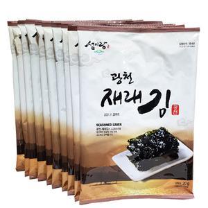 광천김/재래 구이김/10봉 대표이미지 섬네일