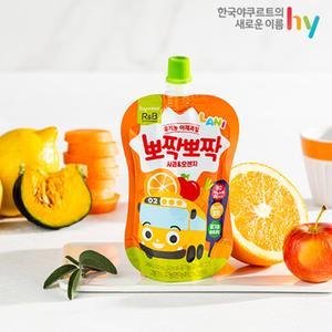 뽀짝뽀짝 사과오렌지/사과포도 (100ml X 10개)