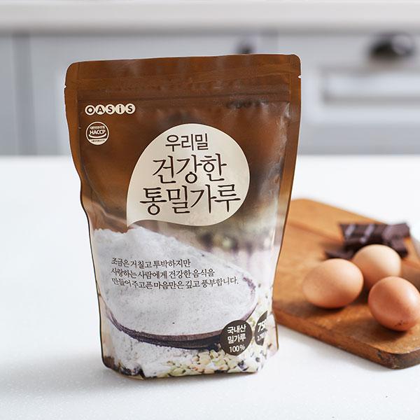 우리밀 건강한 통밀가루 (750g) 대표이미지 섬네일