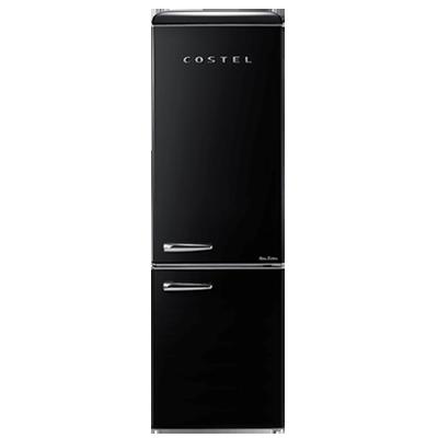 코스텔 냉장고 클래식 레트로 300L (블랙) / CRS-300GABK