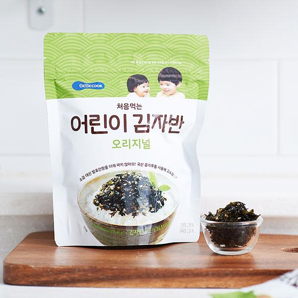베베쿡 처음먹는 어린이 김자반 오리지널 (25g) 대표이미지 섬네일