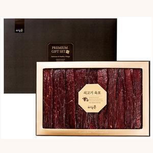 [미향포] 국내산/호주산 쇠고기 육포세트 700g(100gx7입) 대표이미지 섬네일