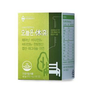 CMG제약 오늘은, 휴 테아닌 긴장완화 60정(1개월) 대표이미지 섬네일