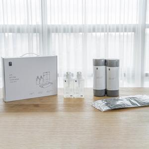 생활공작소 주방용품 선물세트(고무장갑2+수세미2+주방세제2)