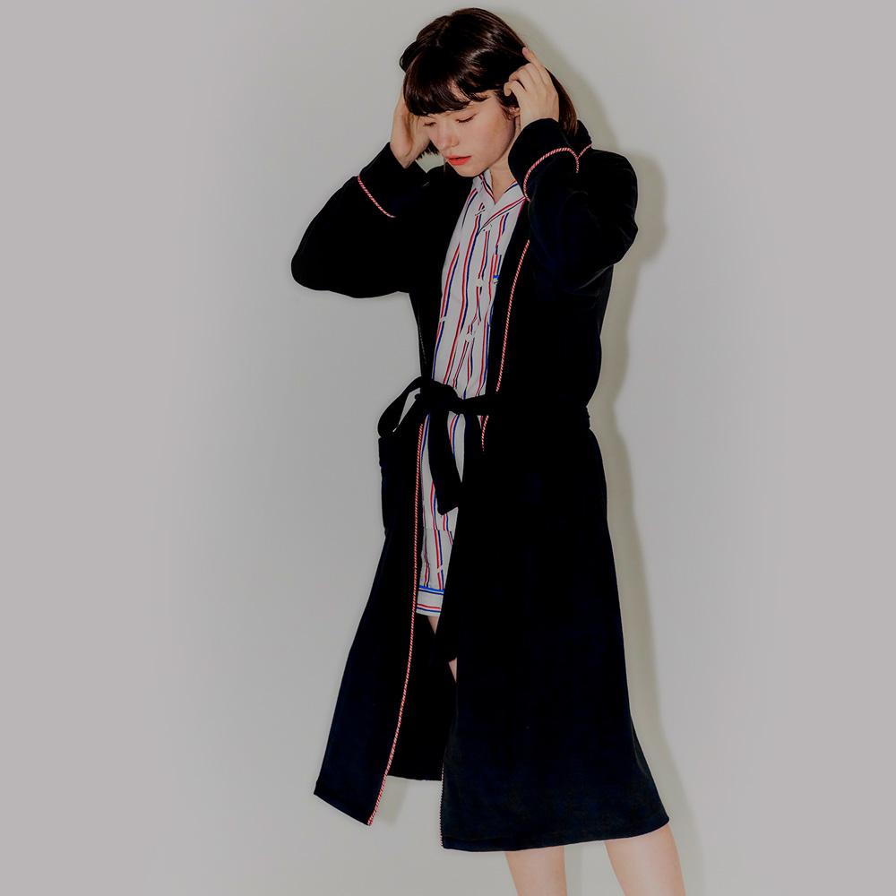 [신규입점] 선데이라운지 여자 레드라인 샤워 로브