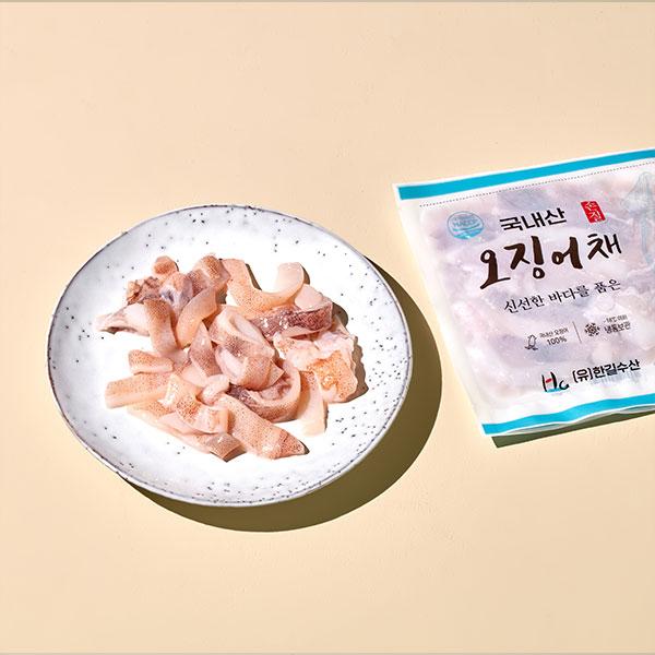 [입점특가]국내산 손질 오징어채(120g) 대표이미지 섬네일