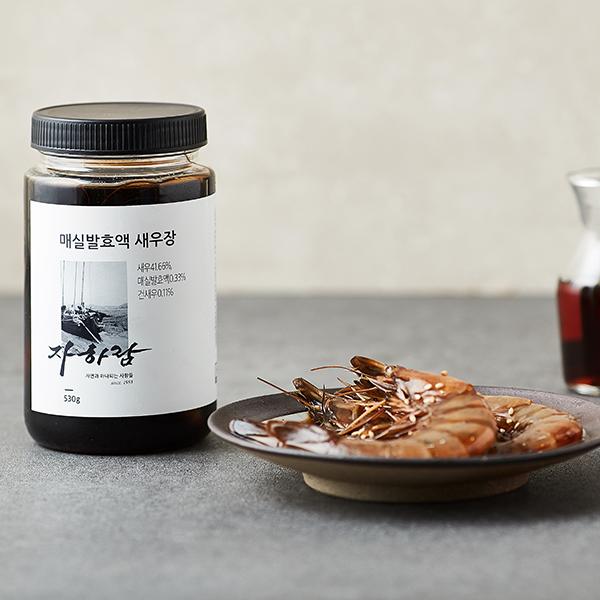 매실발효액 새우장 (530g, 새우 7~10마리 내외) 대표이미지 섬네일