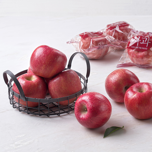 껍질째먹는사과(4입/1팩) 대표이미지 섬네일