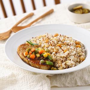 퀴노아 영양밥&닭가슴살 스테이크 (215g)