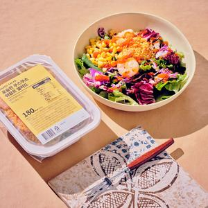 포슬한 쿠스쿠스 쉬림프 샐러드 (185g/180kcal)