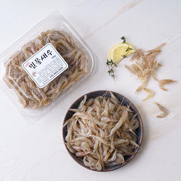 토종 자연산 민물새우 (200g/팩) 대표이미지 섬네일