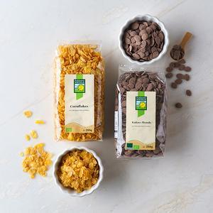 유기농 플레이크 2종 (옥수수, 카카오)