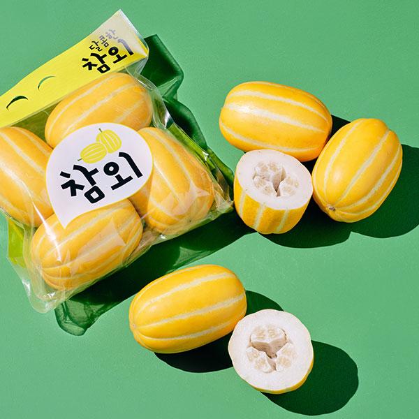 성주 꿀참외(4개입, 1.2kg 내외) 상품이미지