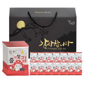 버섯가루 즐겨찾김 조미김 특2호 선물세트 대표이미지 섬네일