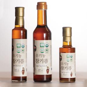 [BEST] 맛뜨락 유기농 참기름 180ml/250ml/500ml 대표이미지 섬네일