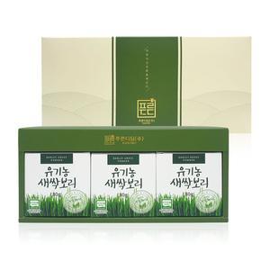 국내산 유기농원료100 유기농새싹보리(3입,선물세트) 대표이미지 섬네일