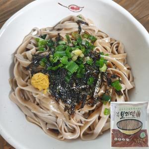국산늘보리로 만든 납작보리면(칼국수/스파게티/소바용) 1kg/6인분 대표이미지 섬네일