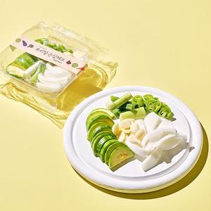 손질채소 세트 /  애호박 듬뿍 찌개용(200g)