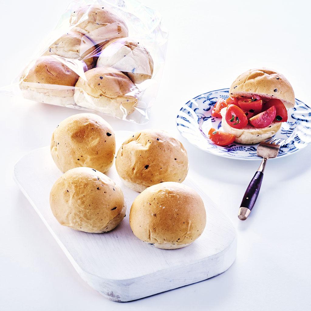 천연발효종 블랙올리브 모닝빵(28gx5입) 대표이미지 섬네일