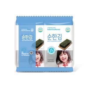 베베푸드 순한 김 2gx10봉 아기김 대표이미지 섬네일