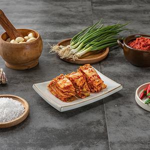 태백김치 건강한 썰어놓은 포기김치 1.8kg 대표이미지 섬네일